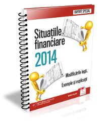 Situatiile financiare 2014 - Modificarile legii. Exemple si explicatii