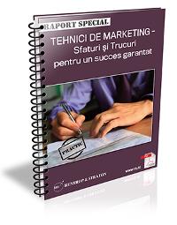 Tehnici de Marketing. Sfaturi si trucuri pentru un succes garantat