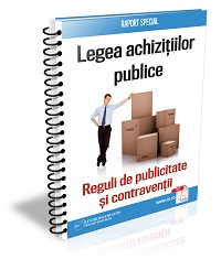 Legea achizitiilor publice. Reguli de publicitate si contraventii