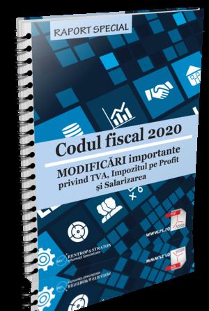 Codul Fiscal 2020. MODIFICARI importante privind TVA, Impozitul pe Profit si Salarizarea