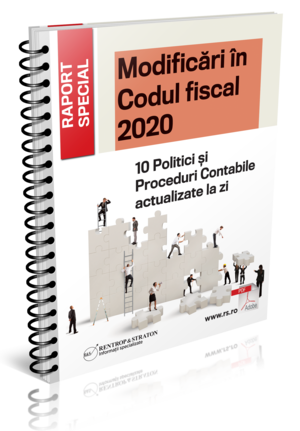 Modificari in Codul Fiscal 2020 - 10 Politici si Proceduri Contabile actualizate la zi
