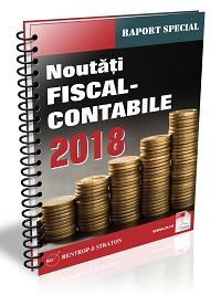 Modificarile majore din Codul Fiscal 2018 - exemple si explicatii