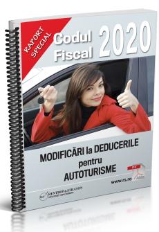 Codul Fiscal - MODIFICARI la DEDUCERILE pentru autoturisme