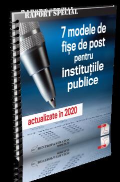 7 Modele de Fise de Post pentru Institutiile Publice - actualizate in 2020