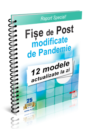 Fise de Post modificate de Pandemie - 12 modele actualizate la zi