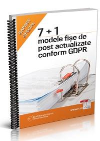 7+1 modele de fise de post actualizate conform GDPR
