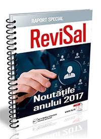 Noutatile anului 2017 in REVISAL