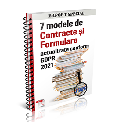 7 modele de contracte si formulare - actualizate conform GDPR 2021