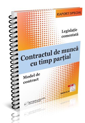 Contractul de munca cu timp partial