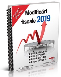 Modificari fiscale 2019