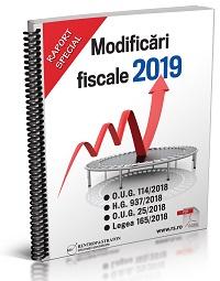 Modificari fiscale 2019