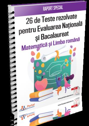 Evaluarea Nationala si Bacalaureat - 33 de Teste Rezolvate pentru pregatirea in clasa