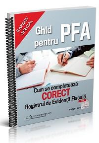Ghid pentru PFA - Cum se completeaza CORECT Registrul de Evidenta Fiscala