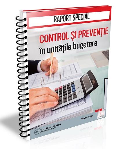 Control si preventie in unitatile bugetare