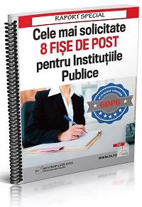 Cele mai solicitate 8 fise de post pentru Institutiile Publice