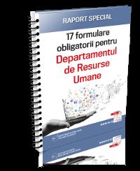 17 formulare obligatorii pentru Departamentul de Resurse Umane