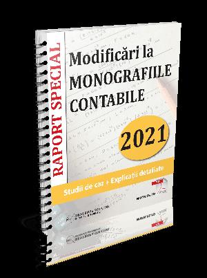 Modificari la MONOGRAFIILE CONTABILE in 2021: Studii de caz + Explicatii detaliate