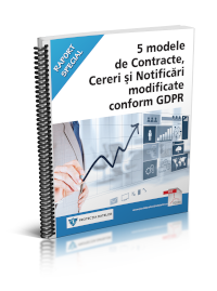 5 modele de Contracte, Cereri si Notificari modificate conform GDPR