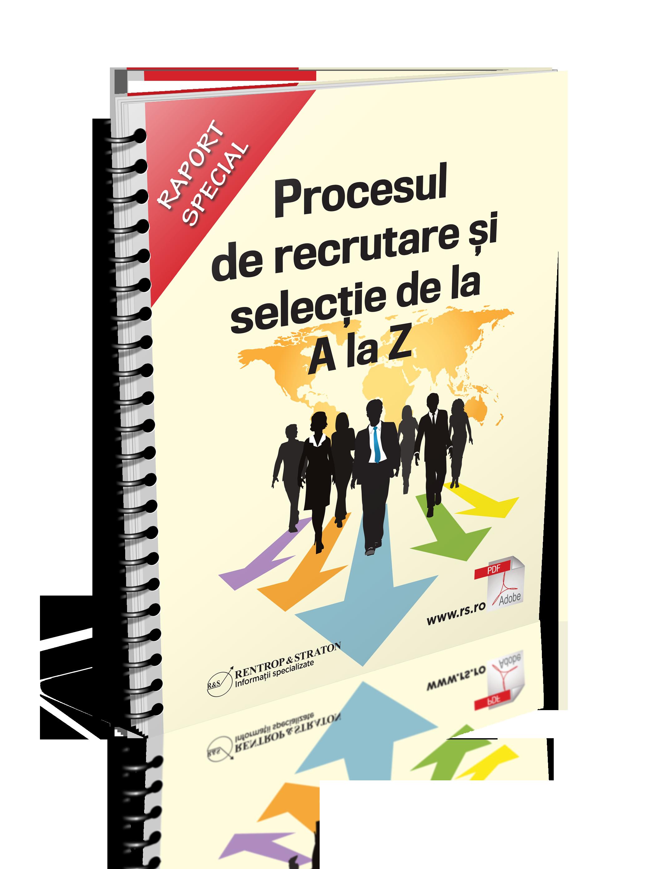 Procesul de recrutare si selectie de la A la Z